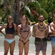 """L'équipe jaune dans """"Koh-Lanta, Les Armes secrètes"""" sur TF1."""