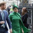 Le prince Harry et Meghan Markle - Cérémonie du Commonwealth en l'abbaye de Westminster à Londres, le 9 mars 2020.