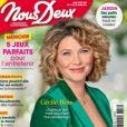 """Cécile Bois fait la couverture du magazine """"Nous Deux"""""""