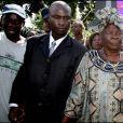 Mama Sarah Anyango Obama, la grand-mère de Barack Obama, au Kenya en 2008.