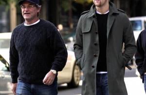Kurt Russel et son fils Wyatt : Deux beaux gosses dans les rues de New York !