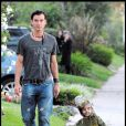 Gavin Rossdale et Kingston pour Halloween (Los Angeles 31 octobre 2009)