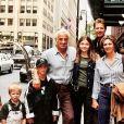 Jean-Paul Belmondo, sa fille Florence et ses petits-enfants sur Instagram, février 2021.
