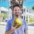Romain Grosjean à Key West, en Floride. Avril 2021.