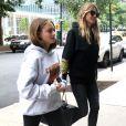 Heidi Klum et sa fille Leni dans les rues de New York, le 23 juin 2018.