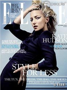 Kate Hudson en couverture du ELLE UK