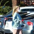 Exclusif - Britney Spears à Los Angeles le 16 mars 2021.