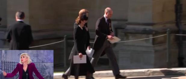 William et Harry réconciliés ? Avec Kate, ils quittent ensemble les obsèques du prince Philip