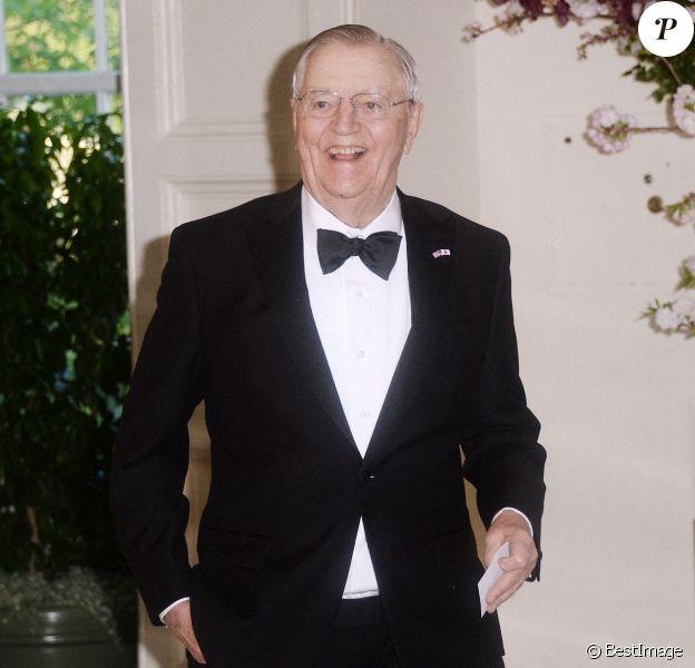 Walter Mondale, ancien vice-président de Jimmy Carter, est mort à 93 ans. Ici lors d'un dîner d'Etat à Washington.