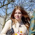 La princesse Alexia des Pays-Bas - La famille royale des Pays-Bas réunie à Eindhoven à l'occasion de l'anniversaire du roi (54 ans) (King's Day 2021), le 27 avril 2021.