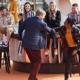 Le roi Willem-Alexander des Pays-Bas assite à un concert à l'occasion de la fête du Roi (Koningsdag), anniversaire du roi (54 ans) à La Haye, Pays-Bas, le 27 avril 2021.
