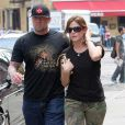 Sandra Bullock et son mari Jesse James à New-York en juin 2006