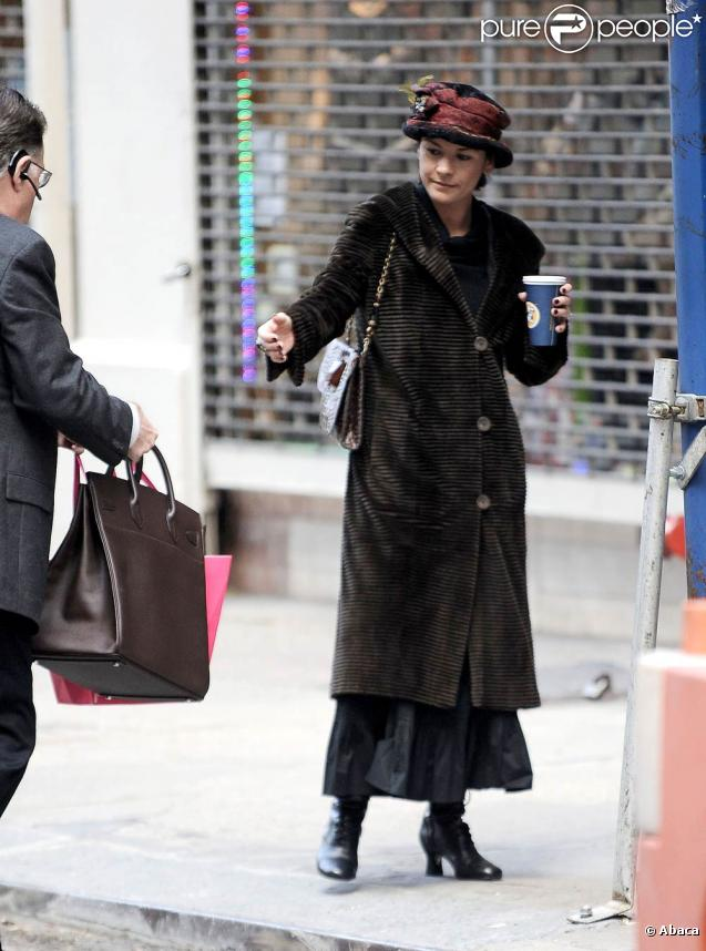 Catherine Zeta-Jones à New York, le 4 novembre 2009