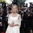 Marthe Keller - Montée des marches du film de la Soirée 70ème Anniversaire lors du 70ème Festival International du Film de Cannes. Le 23 mai 2017. © Borde-Jacovides-Moreau / Bestimage