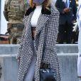 Jennifer Lopez arrive au Raymond James Stadium de Tampa pour le Super Bowl 2021, le 7 février 2021.