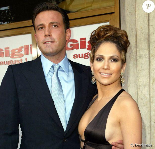 """Jennifer Lopez et Ben Affleck - Première du film """"Gligli"""" à Los Angeles."""