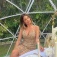 """Mélanie Da Cruz, candidate de télé-réalité révélée dans """"Secret Story"""" et femme du footballeur Anthony Martial."""
