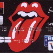 Demandez votre carte bleue... Rolling Stones ! Ce n'est pas une blague !