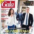 Olivier Véran, Ministre de la Santé, et sa compagne Coralie Dubost en couverture du Gala n°1457.