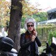 """Audrey Fleurot - Arrivées et sorties des invités de l'émission """"Vivement Dimanche"""" au studio Gabriel à Paris le 9 septembre 2019."""