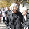 Jacques Higelin - Obsèques d'Alain Corneau au Père Lachaise.