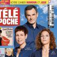 """Magazine """"Télé Poche"""", en kiosques le 17 mai 2021."""