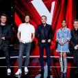 """Marc Lavoine, Vianney, Nikos Aliagas, Amel Bent et Florent Pagny sur le plateau de """"The Voice 2021"""