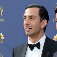 Ricky Martin et son mari Jwan Yosef au 70ème Primetime Emmy Awards au théâtre Microsoft à Los Angeles, le 17 septembre 2018