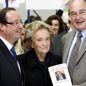 Jacques Chirac : Coaché par sa femme Bernadette et sa fille Claude, il fait mignon avec François Hollande !