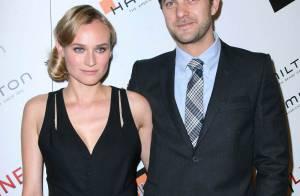 Diane Kruger et Joshua Jackson élégants et amoureux... entourés de Zooey Deschanel et Zoe Saldana !