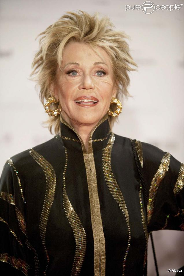 Jane Fonda au gala German Prize of Sustainability 2009, à Düsseldorf, le 6 novembre 2009.