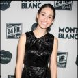 "Emmy Rossum, à l'occasion de la grande soirée ""24 hours plays on Broadway"", à New York, le 9 novembre 2009."