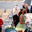 Serena Williams a battu Danielle Rose Collins au 3ème tour simples dames des Internationaux de France de tennis de Roland-Garros. Paris, le 4 juin 2021. © Dominique Jacovides/Bestimage