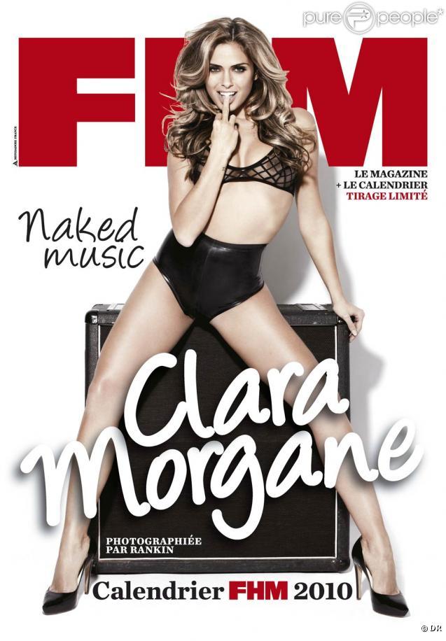 La couverture du calendrier 2010 de Clara Morgane, shooté par Rankin et édité par FHM !