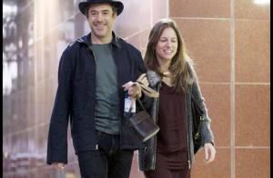 Le très charmant Robert Downey Jr. est très amoureux de sa jolie femme ! La preuve !