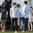 Sur le tournage de  The Romantics , le 16 novembre 2009 !