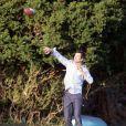 Josh Duhamel sur le tournage de  The Romantics , le 16 novembre 2009 !