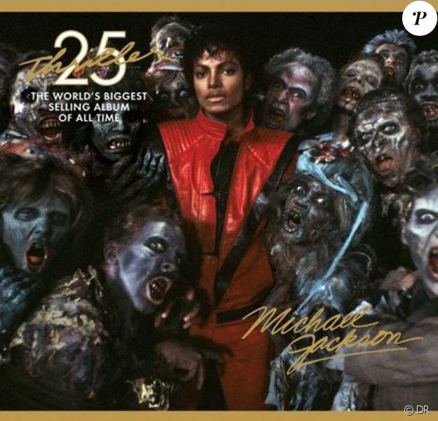Pochette de l'album Thriller 25th Anniversary