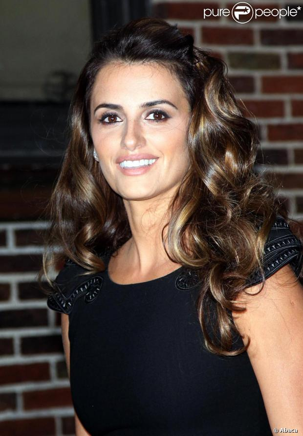 Penélope Cruz à New York le 17/11/09
