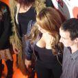 Mariah Carey chez NRJ, le 17 novembre 2009 à Paris