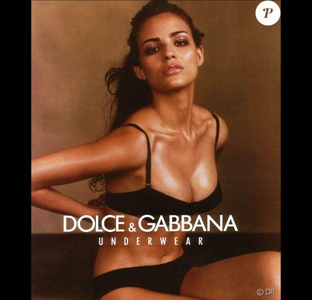 Fernanda Tavares, une autre Brésilienne sublime... Ici pour une campagne Dolce & Gabbana