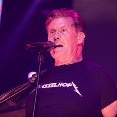 David Hasselhoff en concert à Hambourg en Allemagne, le 20 octobre 2019.