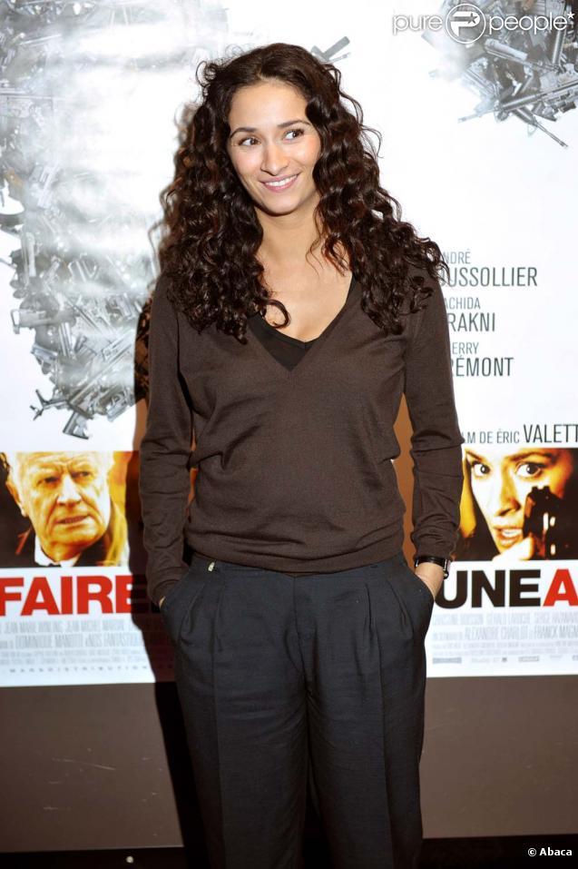 Rachida Brakni à l'avant-première du film  Une affaire d'Etat , le 23 novembre 2009 à Paris.