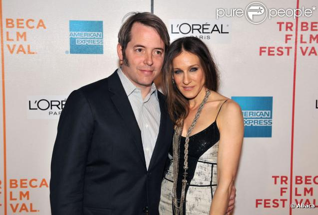 Matthew Broderick et Sarah Jessica Parker
