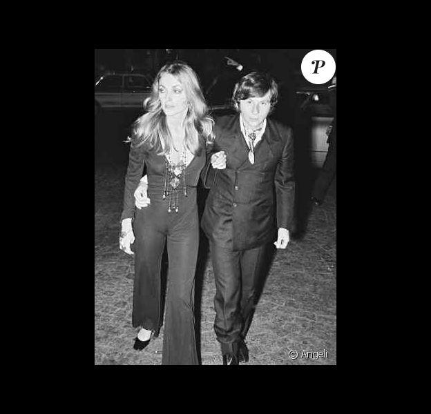 Sharon Tate et Roman Polanski à la première de Rosemary's Baby en 1968