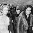 Catherine Deneuve et David Bailey en 1970