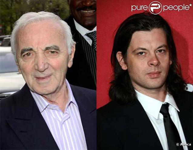 Charles Aznavour et Benjamin Biolay se rencontrent pour  Paris Match , parution le 26 novembre 2009 !