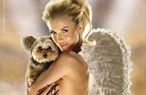 Regardez la magnifique Joanna Krupa en tenue d'Eve... un véritable ange avec les animaux !