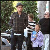 Justin Chambers : Une journée entre hommes... avec son unique fils, trop craquant !