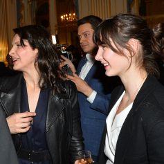 """Exclusif - Juliette Binoche et sa fille Hannah Magimel - L'actrice reçoit le """"French Cinema Award Unifrance"""" au ministère de la Culture à Paris, le 19 janvier 2018. © Veeren/Bestimage"""